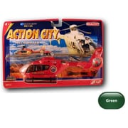 Realtoy EC-135 Action City Series Adult Diecast Collectible - Green (DARON8669)