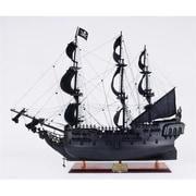 Old Modern Handicrafts Black Pearl Pirate Ship (OMHC198)