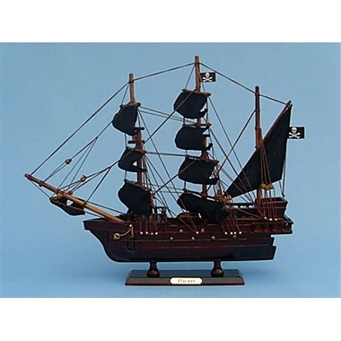 Handcrafted Model Ships Edward Englands Pearl 14 in. Decorative Tall Model Ship (HDFM2181)