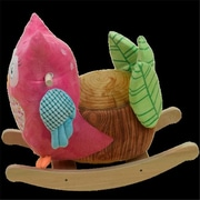 Rockabye Owlivia Pink Owl Rocker (RKBY021)
