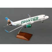 Skymarks Supreme Skymarks Frontier A320 1-100 with GEAR & Wood Stand with SHARKLETS (DARON11221)