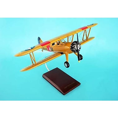 Daron Worldwide Trading PT-17 N2S Yellow Peril Stearman 1/24 AIRCRAFT (DARON433)