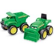John Deere 35874 Dump Truck & Tractor, 2 Pack (TRVAL47159)