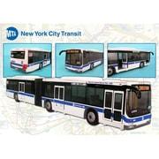"Realtoy 16""L Mta Articulated Bus (DARON9083)"