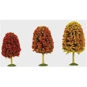 Bachmann HO 3 in.- 4 in. Autumn Decicious Trees - 3 (SPWS4594)