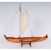 Old Modern Handicrafts Hawaiian Canoe (OMHC192)