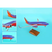 Skymarks Supreme Southwest 737-700 1-100 with Wood Stand and Gear (DARON9111)