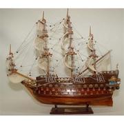 Old Modern Handicrafts San Felipe Small Model Boat( OMHC073)