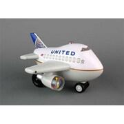 Bump & Go Plane United Bump & Go Post Continental Merger Livery( DARON11351)
