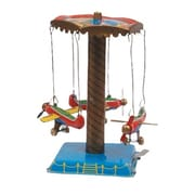 SHAN Collectible Tin Toy - Airplane Carousel( AXNRT1757)