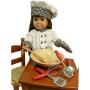 The Queens Treasure Kitchen Tool Accessory Set Sized Perfectly for 18 Inch American Girl Dolls (TQST036)