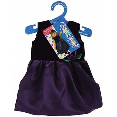 Fibre Craft 478340 Springfield Collection Dress-Black Velvet-Purple Satin (NMG36385)