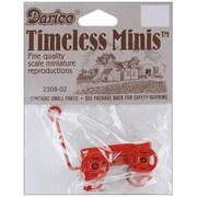 "Darice Miniature 1"" Red Toy Wagon (NMG5783)"