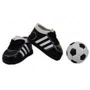 The Queens Treasures Soccer Shoes & Ball For 18 in. Dolls & American Girl (TQST100)