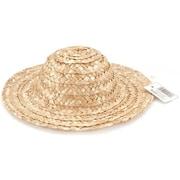 """Darice Round Top Straw Hat 14"""" (NMG5703)"""