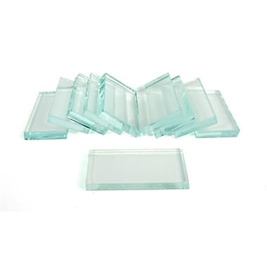 American Educational Products Streak Plates - Glass, 10 Pack (UNMAP8036)