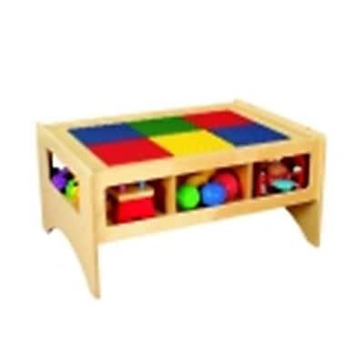 Childcraft Toddler Multi-Purpose Play Table Building Block