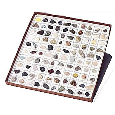 Hubbard Scientific Rocks and Minerals of U.S. Basic Coll. 35 pcs. (AMED462)