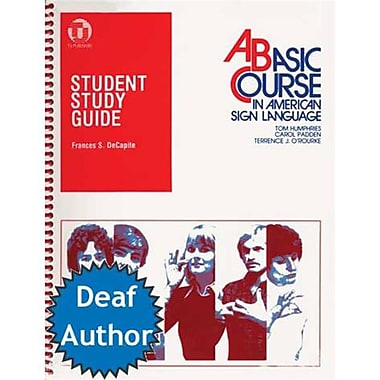Harris Communications A Basic Course in American Sign Language Study Guide (HRSC008)