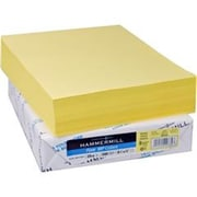 Hammermill Recycled Colored Paper, 20lb, 8.5 x 11, Canary, 500 Sheets-Ream (AZERTY16989)