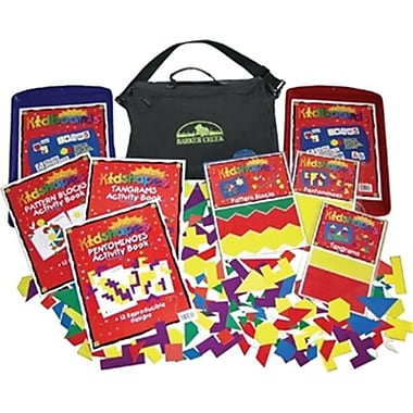 Barker Creek New Briefcase - SuperKidshapes Activity Kit (BRCR016)