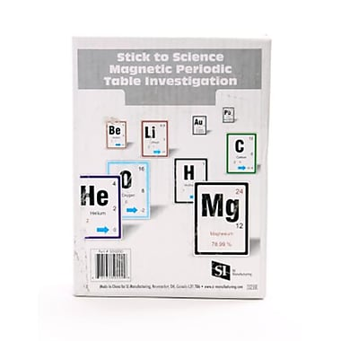 American Educational Products Stick to Science Magnetic Periodic Table Investigation (AMED4768)