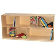 Wood Designs - Mobile Single Storage Unit - 24 Inches High With Hardboard Back - 12 Inches Deep (WDD083)
