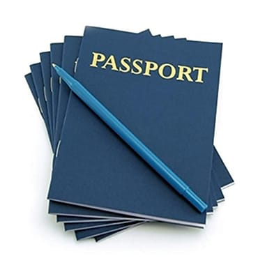 Hygloss Products My Passport Book 24 Books (EDRE33560)