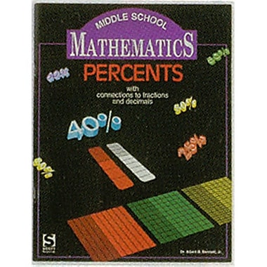 American Educational Communicating Mathematics with Percents Guide (AMED4486)