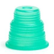 Bio Plas Hexa-Flex Safety Caps for 10mm, 12mm, 13mm, 16mm, 18mm Tubes 500 pk - Green (BIPS230)