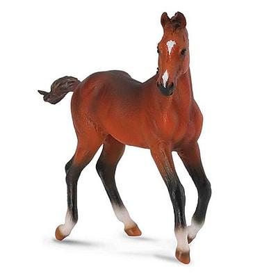 CollectA Sorrel Chestnut Quarter Horse Foal AQHA Model Replica - Pack of 6 (IQON282) 2516098