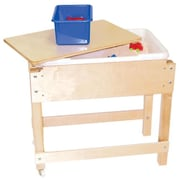 Wood Designs - Petite Sand And Water-Sensory Table With Lid-Shelf (WDD074)