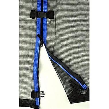 Upper Bounce Trampoline Enclosure Net for 7.5 ft. Frame Using 6 Poles, Installs Outside of Frame (KS090)