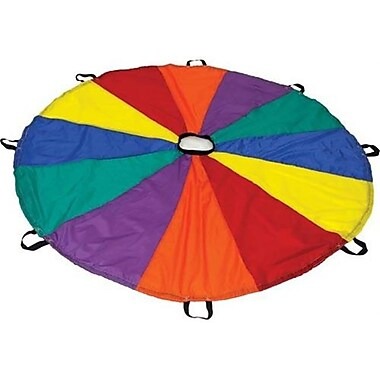 Olympia Sports Deluxe Parachute - 24 ft. Diameter - 24 Handles (OSPS083P)