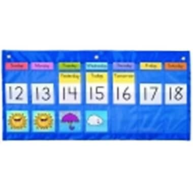 Carson Dellosa Weather Calendar Chart - 25 x 12.75 in. - Weekly, Blue (SSPC69660)