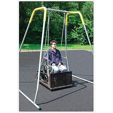 Sport Play Wheelchair Swing with Frame Adult Platform- To fro Hanger (SPE076)