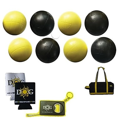 The Day of Games Beach Bocce Set - 90mm Plastic by The Day of Games (DYGMS004)