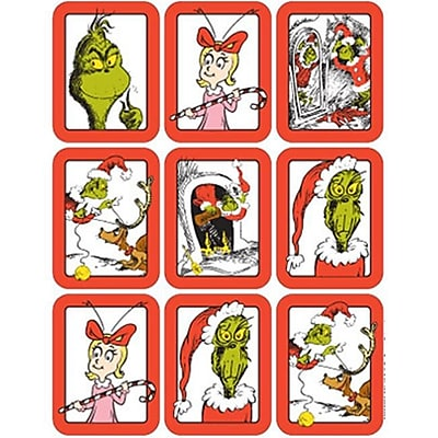 Eureka Dr. Seuss The Grinch Giant Stickers (EDRE30493)