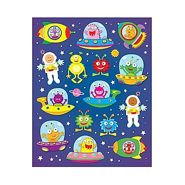Carson Dellosa Out Of This World Shape Stickers 90Pk (EDRE32172)