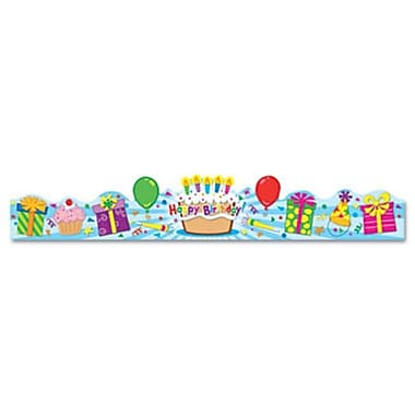 Carson-Dellosa Student Crown Birthday 4 x 23 1/2 (AZCDP101021)
