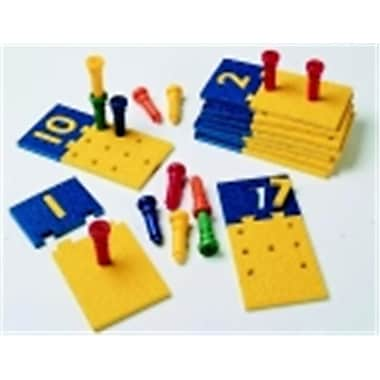 Lauri Number Puzzle Board And Peg (SSPC73683)