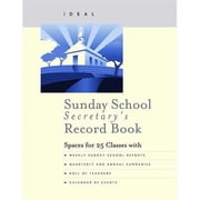 Abingdon Press Sun Sch Ideal Sunday School Secretary Record Book New Cover (ANCRD44521) by