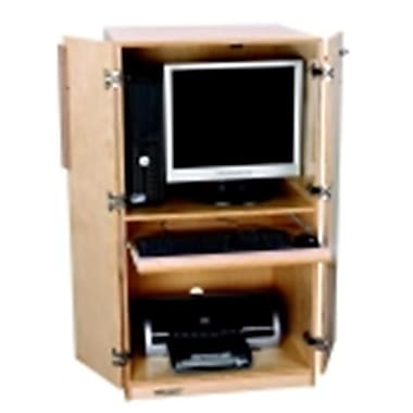 Childcraft Mobile Small Locking Computer Station (SSPC57783)