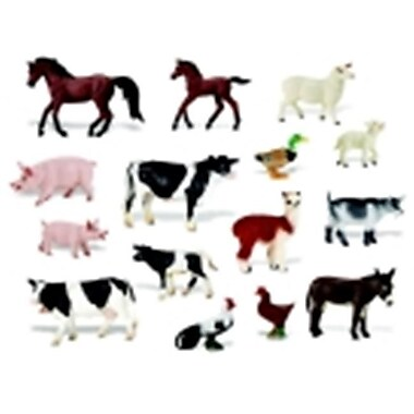 Childcraft On The Farm Hand-Painted Play Figurine Animal Set (SSPC68141)