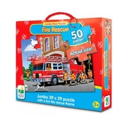 The Learning Journey Jumbo Floor Puzzles - Fire Engine Rescue (LJI336)