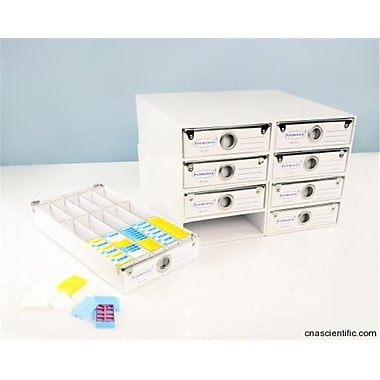 C and A Scientific Cassettes Storage Case - 8 drawers (CAS534)