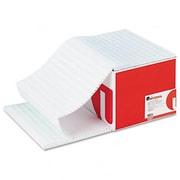 Universal Green Bar Computer Paper 18lb 14-7/8 x 11 Perforated Margins 2600 Sheets (AZRUNV15851)