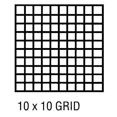 Alvin Grid Vellum 42 X 5 Yds 10x10 (ALV3873)