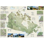National Geographic Maps Canada National Parks Wall Map - Laminated (NAGGR360)