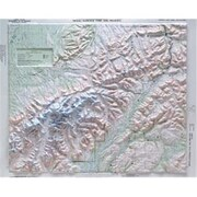 Hubbard Scientific Raised Relief Map Denali National Park (AMED1903)